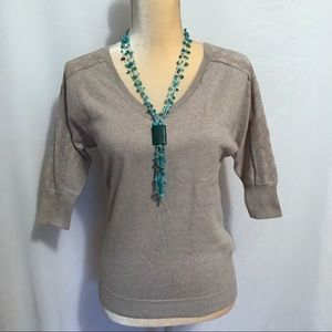 The Limited V-Neck Blouse S